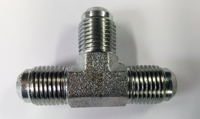 All Male Tee Adapter JIC Hydraulic Fitting