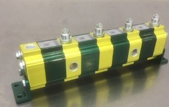 HYDRAULIC FLOW DIVIDER AND COMBINER FOUR CYLINDER SYNCHRONISER ITALIAN VIVOIL