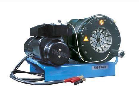 Hydraulic Hose Crimper Swage Machine FINN POWER 12 - 24V DC 14 to 54 mm