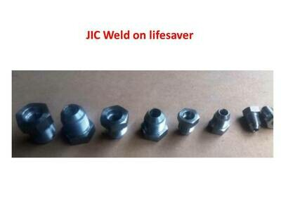TUBE WELD JIC VARIOUS SIZES 7/16