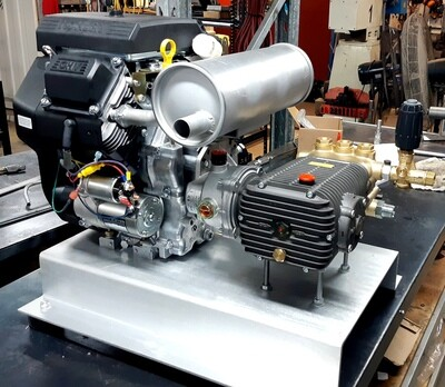 Pressure Washer Drain Cleaner Power unit 35LPM@3600PSI