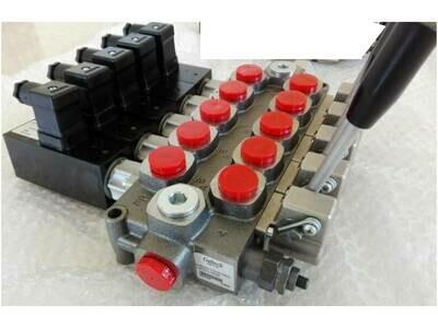 GALTECH Q75  ITALIAN Flow Control Valve  5-Spool 80 LPM