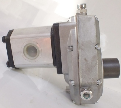 PTO SPEED INCREASE GEARBOX WITH HYDRAULIC PUMP ITALIAN MADE QUALITY UP TO 40 Lpm