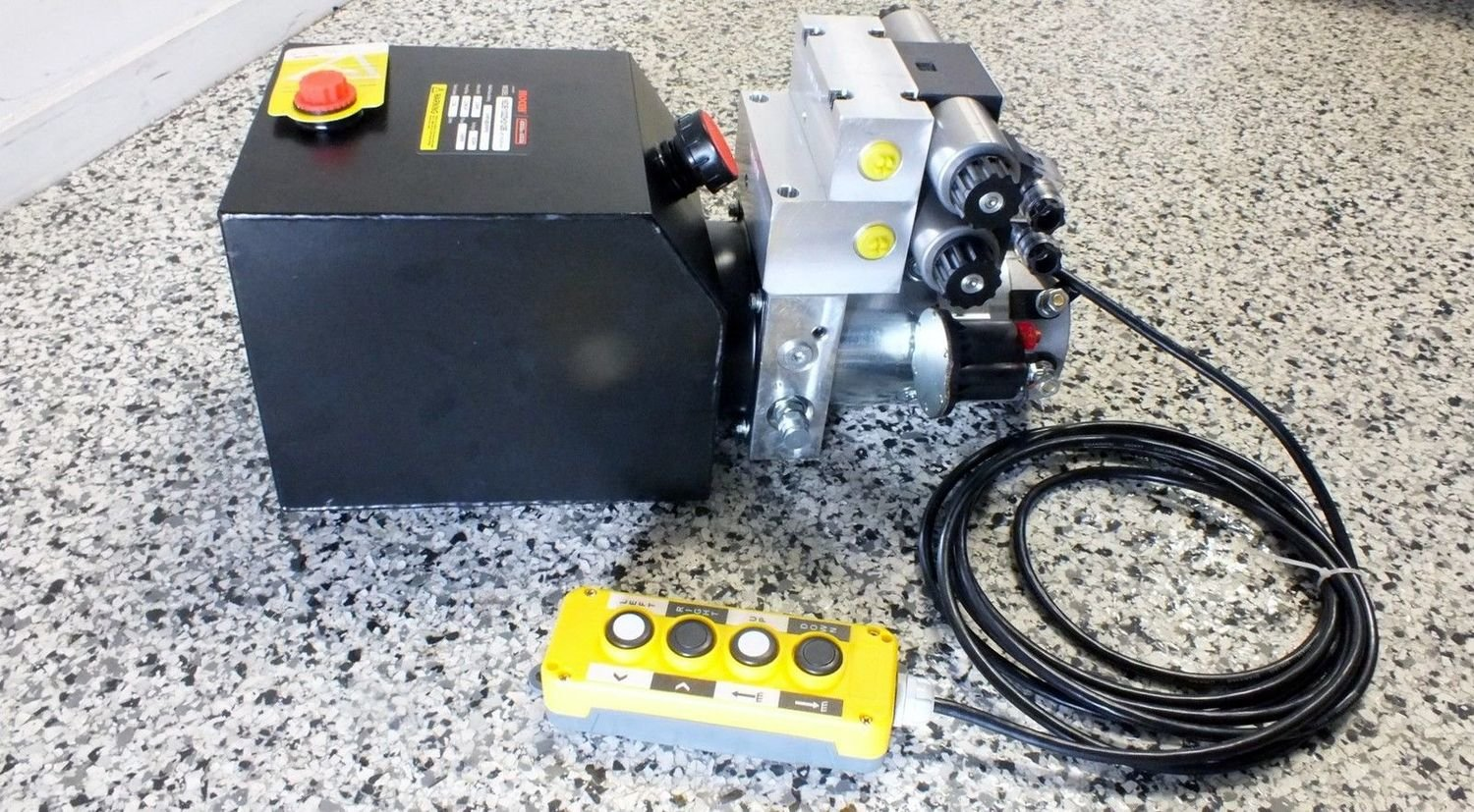 Hydraulic Power Pack 12 - 24V DC  2x Dbl Acting 5.0 Lt/Min 2500 PSI