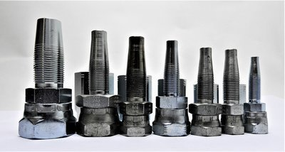JIC Field Fit Reusable Hydraulic Hose Fittings