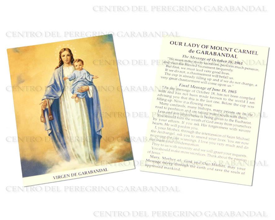 Estampa Sencilla / Holy Card