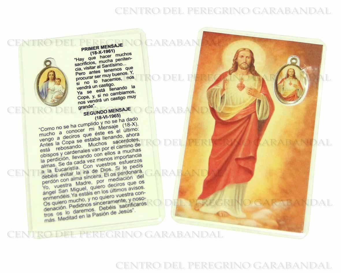 Estampa con Medalla / Holy Card with Medal