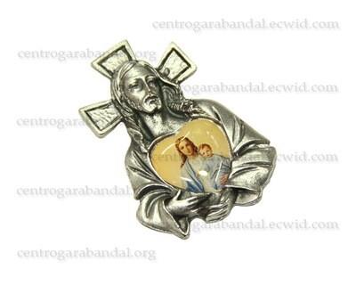 Sagrado Corazón de Jesús, Imán y Autoadesivo