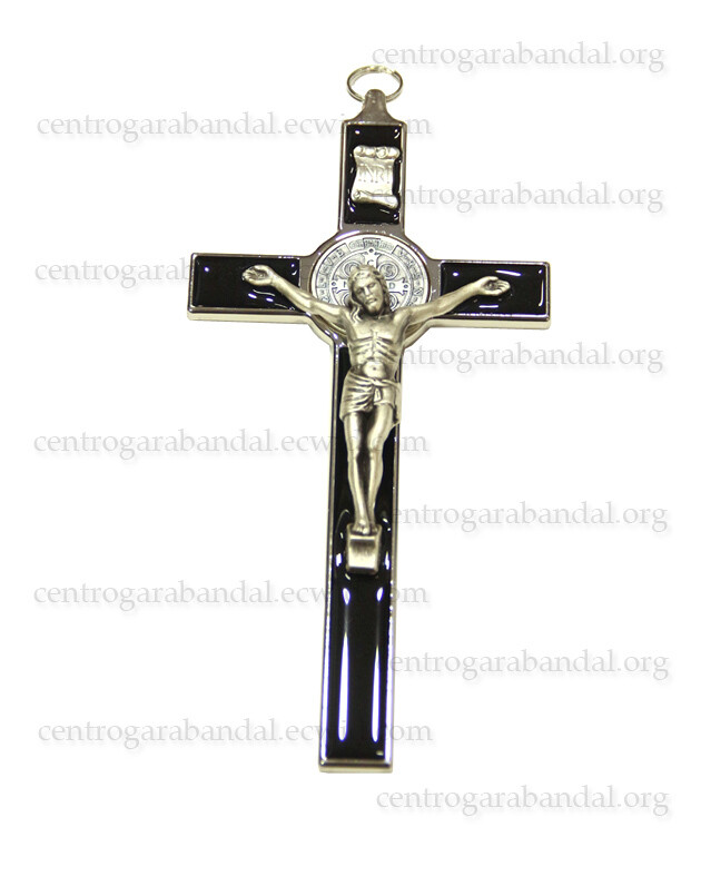 Cruz San Benito Esmaltada 3 / Cross of St. Benedict Large 3