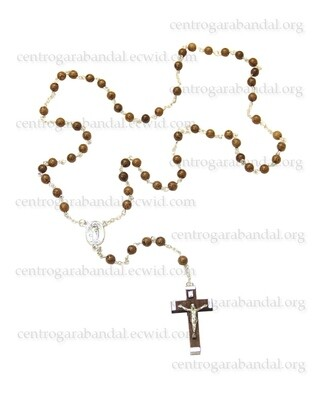 Rosario con Reliquia / Rosary with Missal Kissed Relic - 77