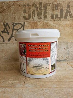 Belinda's  Premium  Custom Weather Shield Loose Lick  5kg Tub