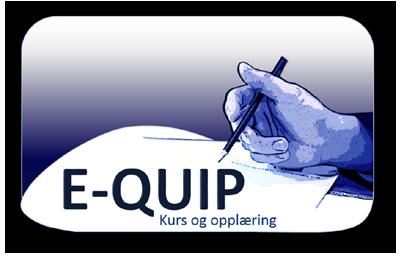E-QUIP Egne kurs og opplæring. DEMO
