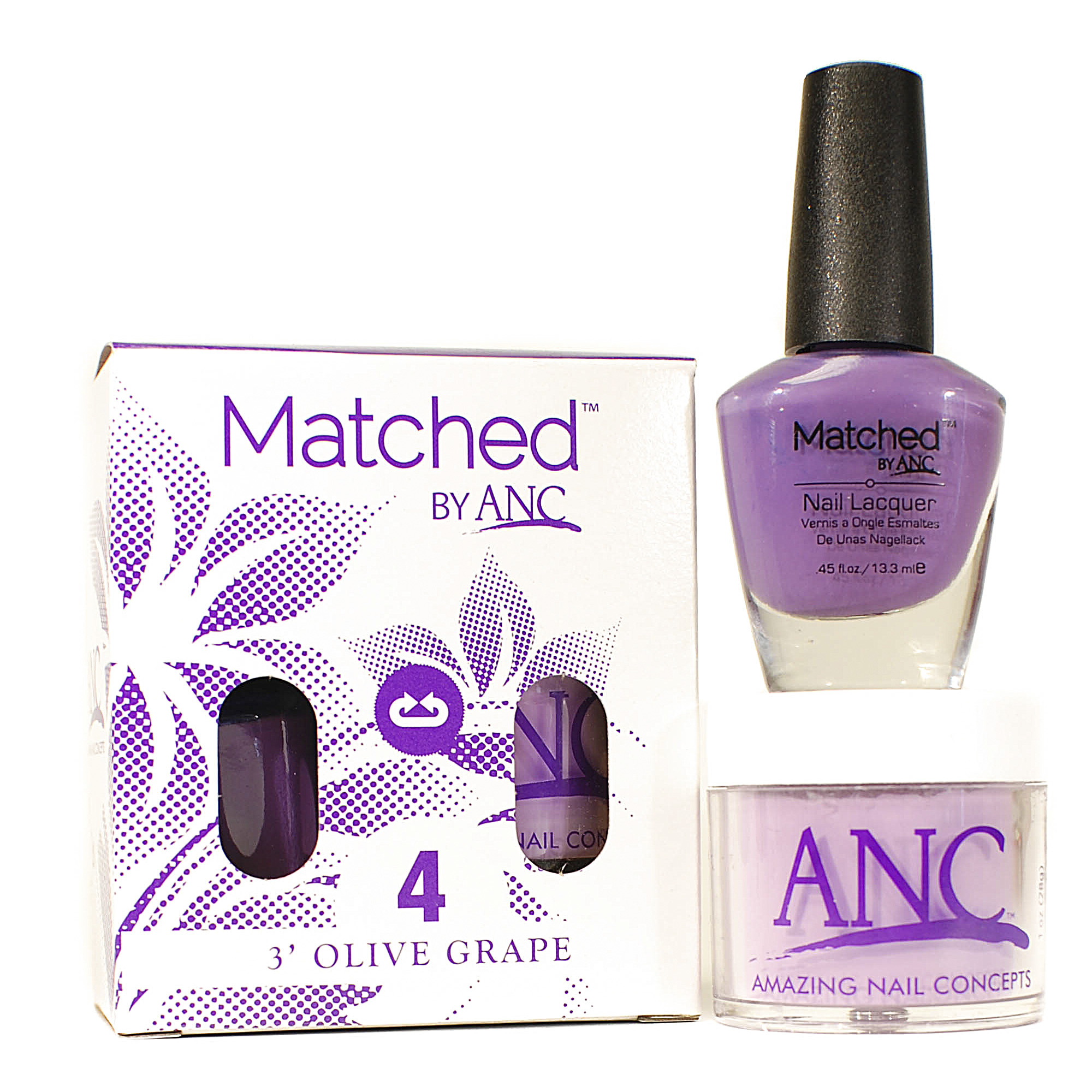 40 Matched™ Combo by ANC | Amazing Nail Concepts | French Dip ...