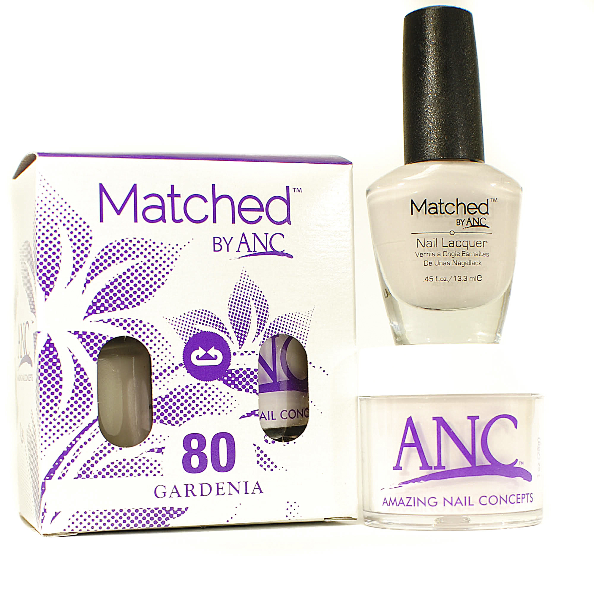 40 Matched™ Combo by ANC   Amazing Nail Concepts   French Dip ...