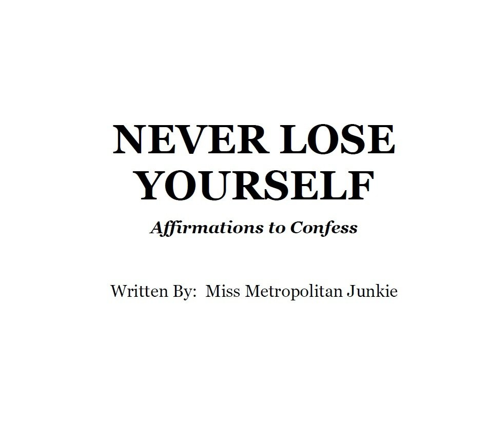 Never Lose Yourself (E-Book)