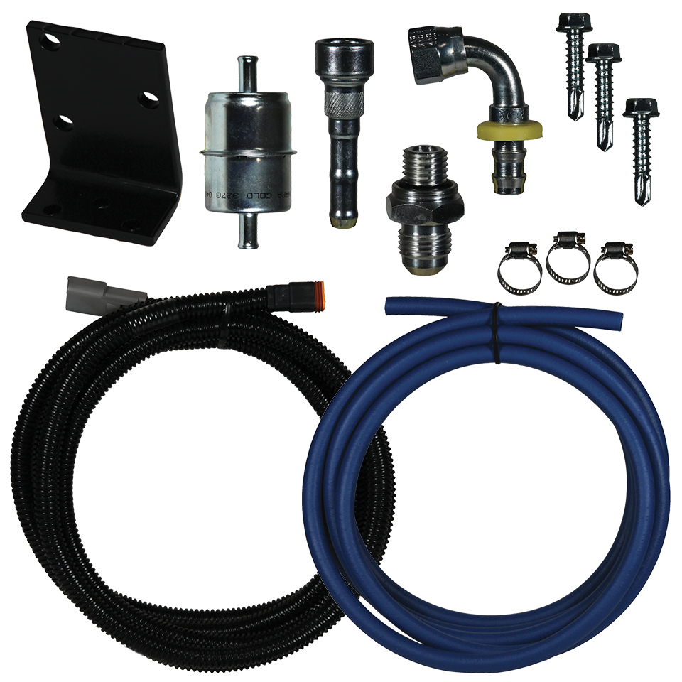 FASS 1998.5-2002 DODGE CUMMINS REPLACEMENT PUMP (DRP02) RELOCATION KIT RK-02