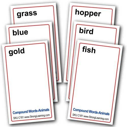 Compound Words for Home -- 4-in-1 Card Game