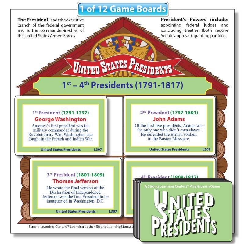 "United States Presidents ""Fill-the-House"" Game"