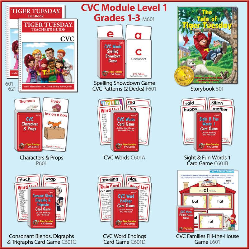 Reading Module 1–CVC (3 Versions)