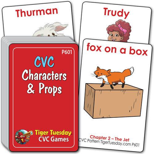 Characters & Props - CVC Pattern