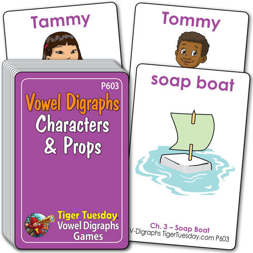 Characters & Props - Vowel Digraphs