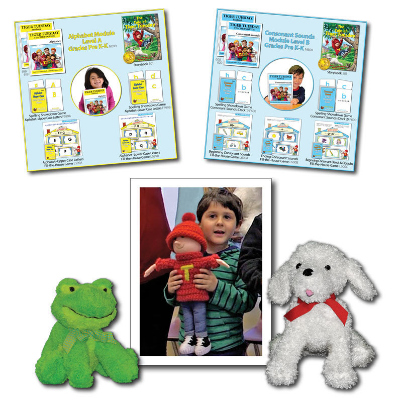 Tiger Tuesday® Reading Readiness Program -- 2 Modules (3 Options)