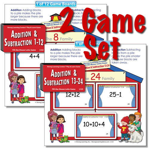 SPECIAL-Beginning Addition & Subtraction 1 and 2-SAVE $10.00!