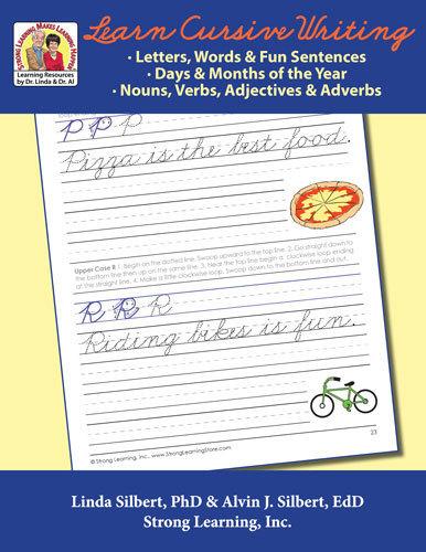 Learn Cursive Writing -- Grades 2-6