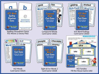 VCE (Vowel-Consonant-E) Game Bundle Level 2