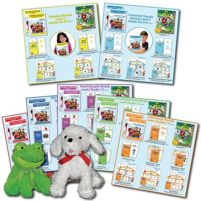 Tiger Tuesday® Complete Reading Program -- All 7 Modules (3 Options)