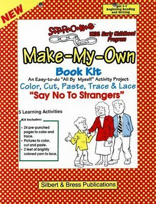 Book Kit - Say No to Strangers. Children love making their own book!
