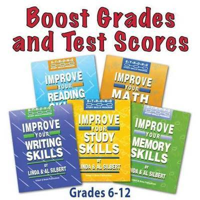 SPECIAL--Get 1 FREE! Study Skills 5 Book Assortment - Gr. 6 thru College