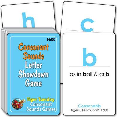 Flashcards/Consonant Showdown Game - Consonant Sounds