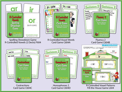 R-Controlled Vowels Game Bundle Level 4