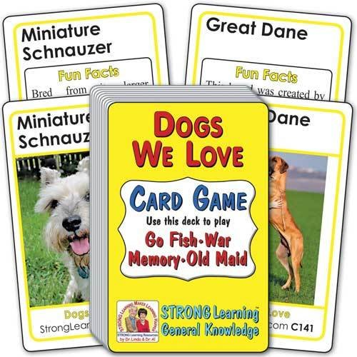 Dogs We Love Card Game