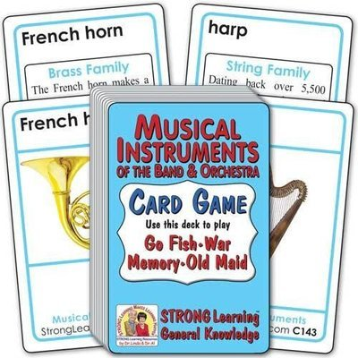 Musical Instruments of the Band & Orchestra​ Card Game