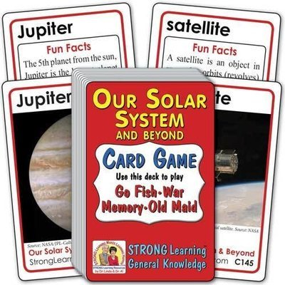The Solar System and Beyond Card Game