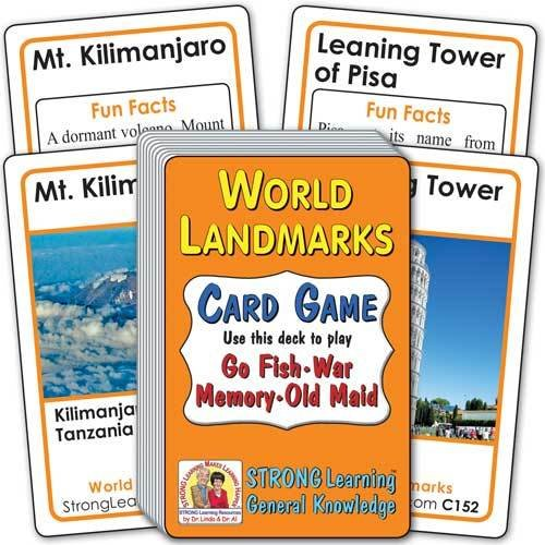 World Landmarks Card Game