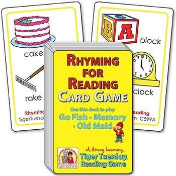 Rhyming for Pre-Readers | Ages 4-5+