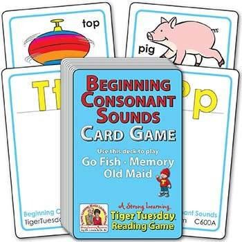 Beginning Consonant Sounds | Ages 4-5+