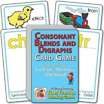 Consonant Blends & Digraph Sounds | Ages 4-5+