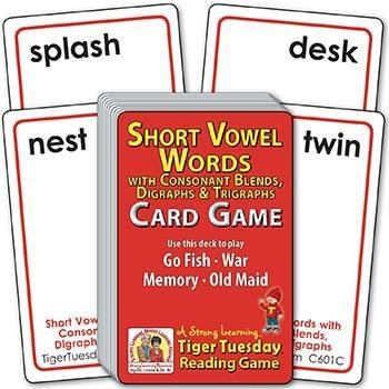 Short Vowel 4-5 Letter CVC Words | Ages 5-6+