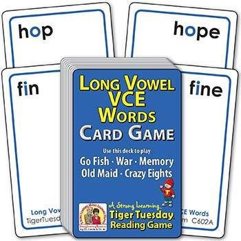 Long Vowel VCE Words | Ages 6-7+