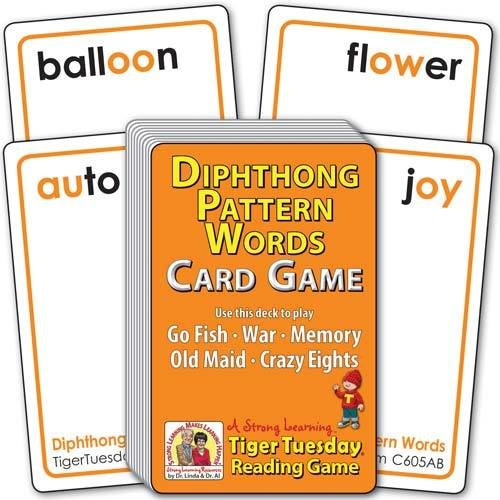 Diphthong Pattern Words | Ages 7-8+