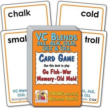 VC Blends - ALL, ALK, OLD, OLT & OLL | Ages 8-11+
