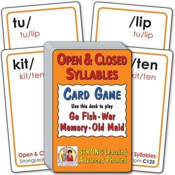 Open and Closed Syllables | Ages 8-11+