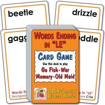 "Words Ending in ""LE"" 