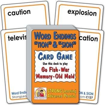 "Word Endings ""TION"" & ""SION"" 