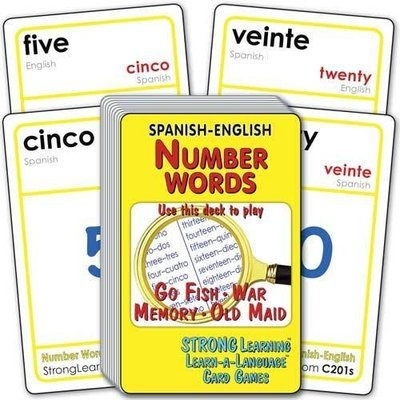 Number Words-Spanish/English