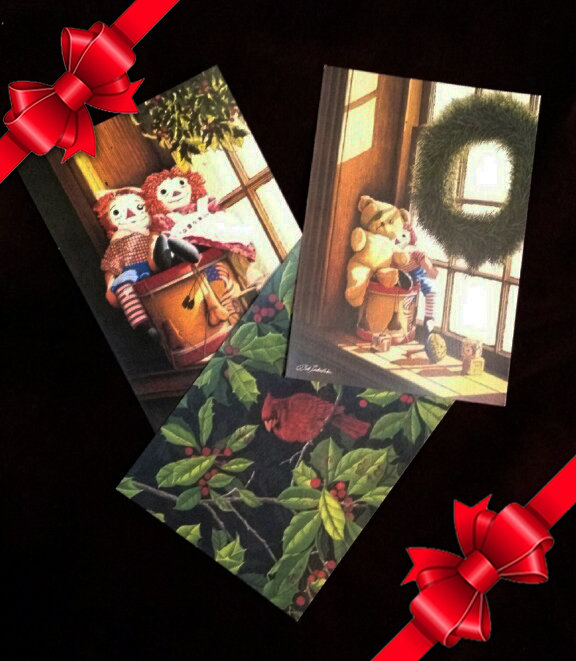 The Gallery Collection Christmas Cards.Christmas Cards